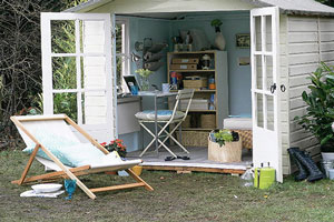 Outdoor Office Shed Example