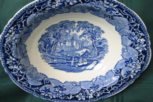 Fine China Serving Dish