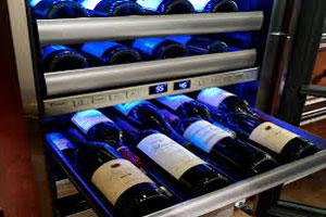 Outdoor Wine Cabinet Example
