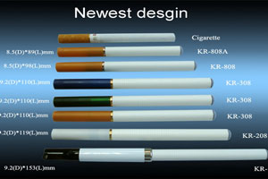E-cigarette examples