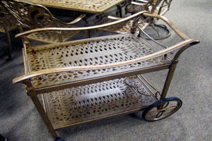 Ornate Serving Cart