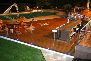 Outdoor Bar with Deck