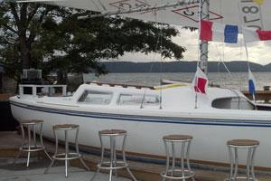 Literal Boat Bar