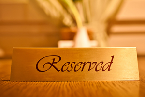 Reserved Nameplate