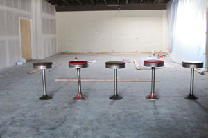 Multiple Bar Stools of Various Quality Levels