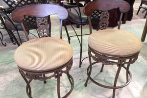 Consignment Store Bar Stools